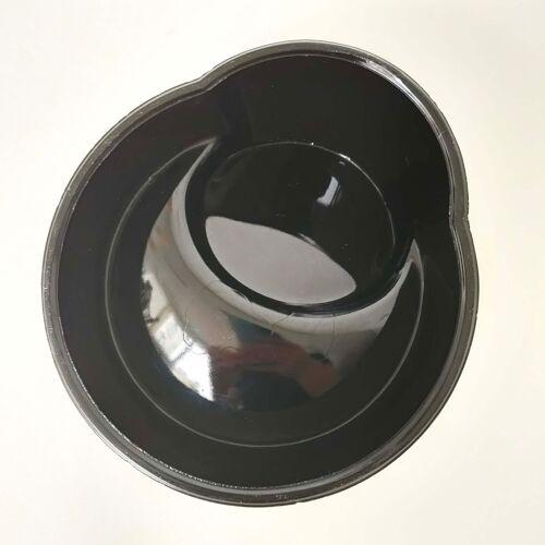 Ashtray Cognac Hardy opaline black