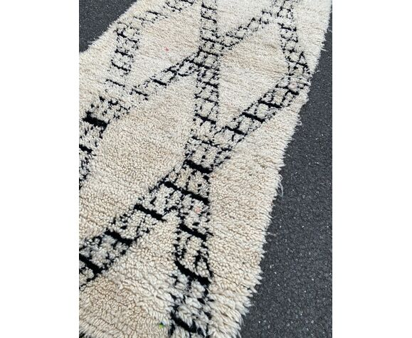 Tapis berbere Beni Ouarain 105x260 cm