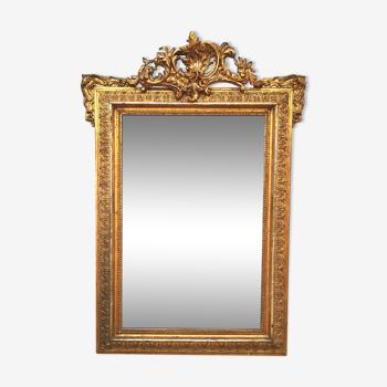 Mirror style Louis XV, late 19th century - 116x81cm