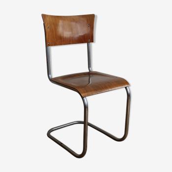Chaise modèle S43 de Mart Stam pour Gottwald 1930