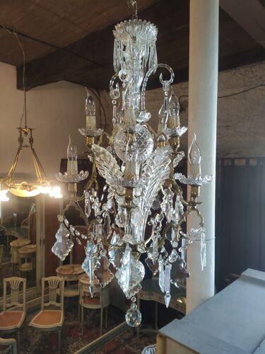 Lustre murano en cristal