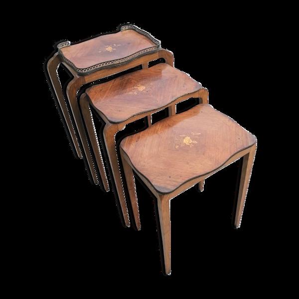 Tables gigognes années 30