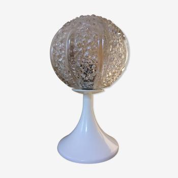 Lampe de table art déco tulipe