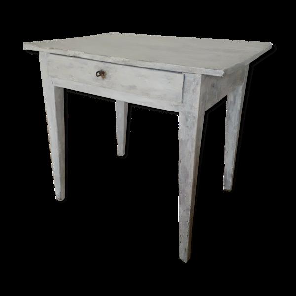 Table de ferme ancienne en chêne massif