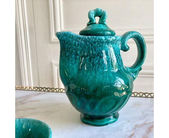 Mid century tea tea and cups earthenware service