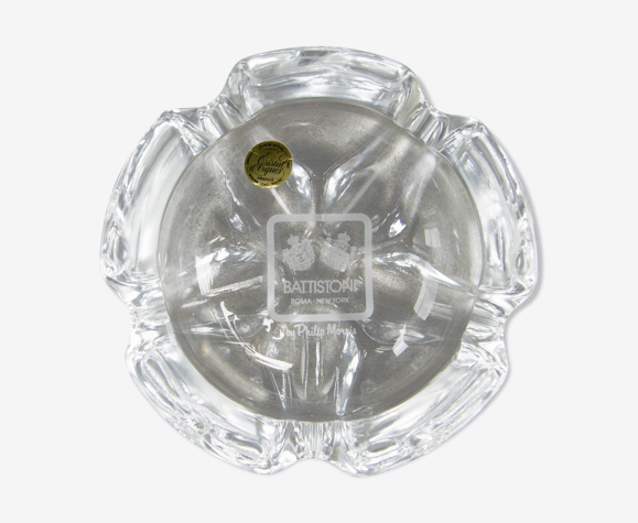 Cendrier en cristal d'Arques
