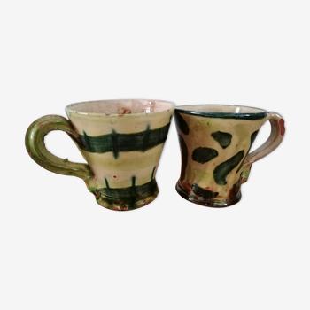 Poterie 2 mugs