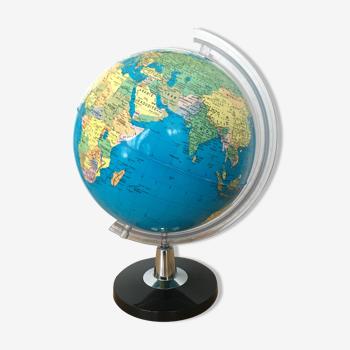 Globe terrestre années 80