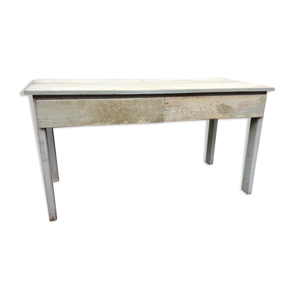 Selency Table atelier industrielle