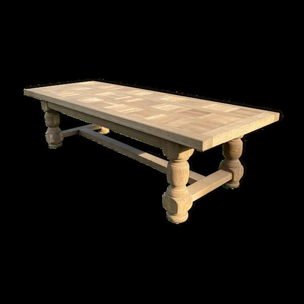 Selency Table en chêne