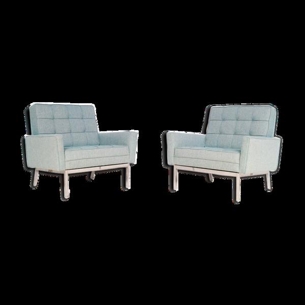 Paires de fauteuils, modèle 67 A, par Florence Knoll, 1966, Knoll Internationnal éditeur
