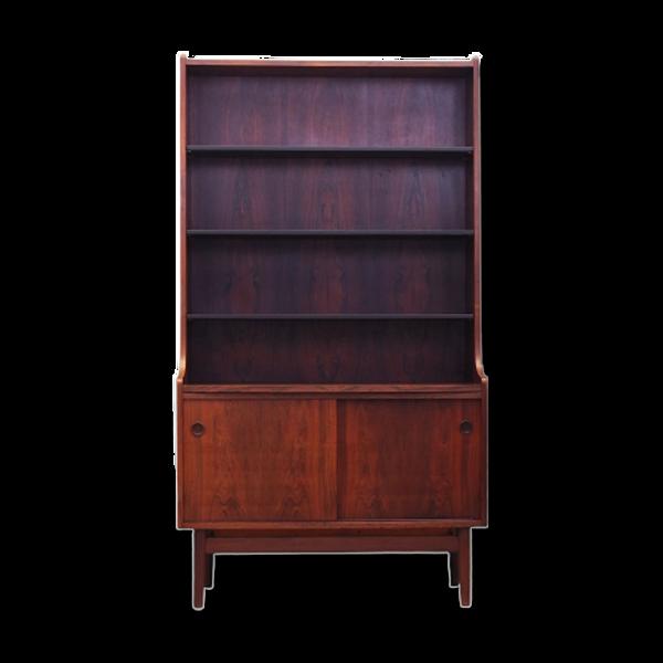 Bibliothèque en palissandre, design danois, années 1960, designer: Johannes Sorth, production: Bornholm