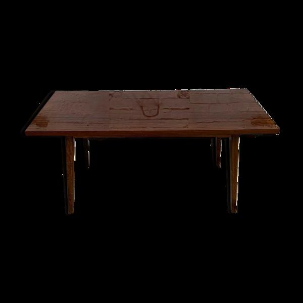 Table basse vintage Tchèque 1970