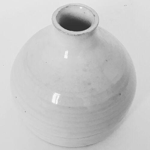 Vase céramique blanche