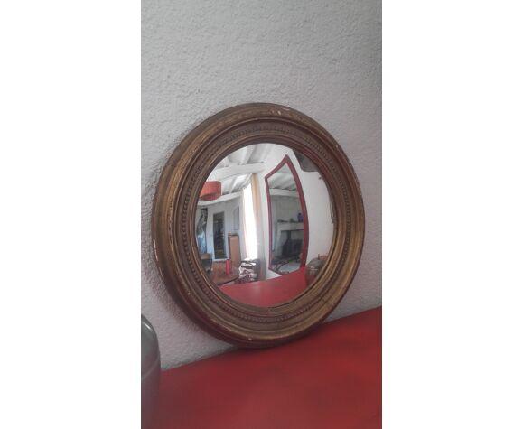 Miroir rond de sorcière 67cm