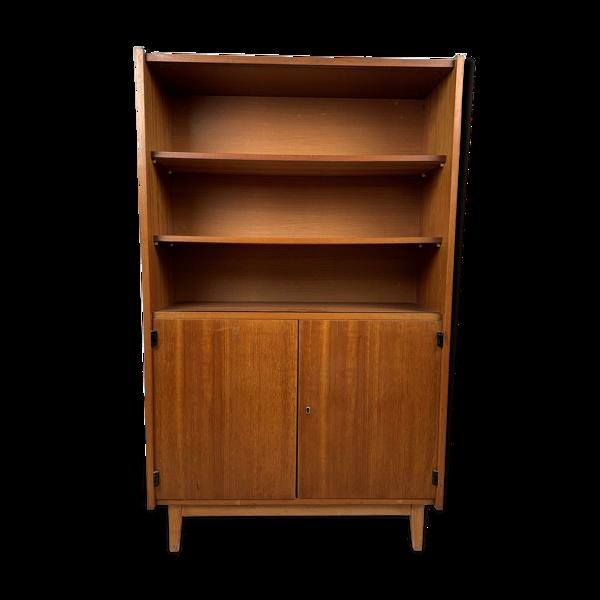 Bibliothèque scandinave vintage en chêne, années 70