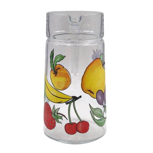 Pichet à jus de fruits vintage