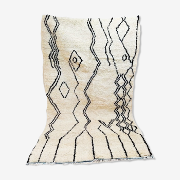 Tapis berbère tribal 260 x 158 cm