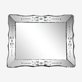 Miroir vénitien  78x61cm
