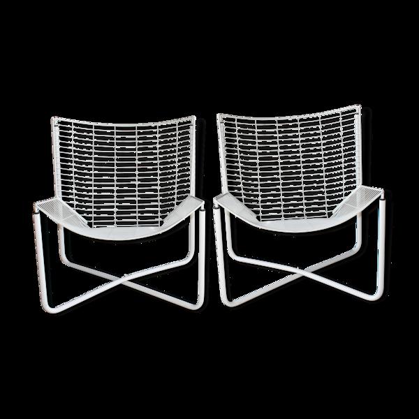 Lot de 2 fauteuils Jarpen par Niels Gammelgaard pour Ikea