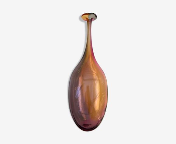 Vase vintage Fidji par kjell engman kosta boda design scandinave