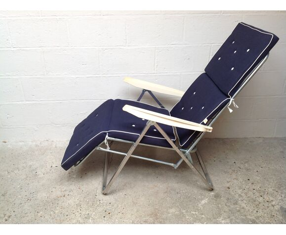 Chaise longue vintage années 70