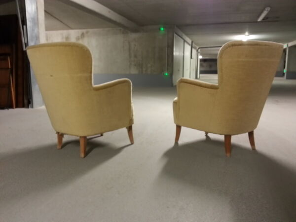 1/2 fauteuil bergere années 50 60 Theo Ruth pour Artifort