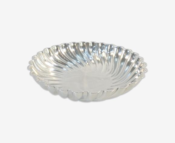 Plat saladier christofle en métal argenté