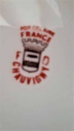 "Porcelain table bin ""FD Chauvigny"""