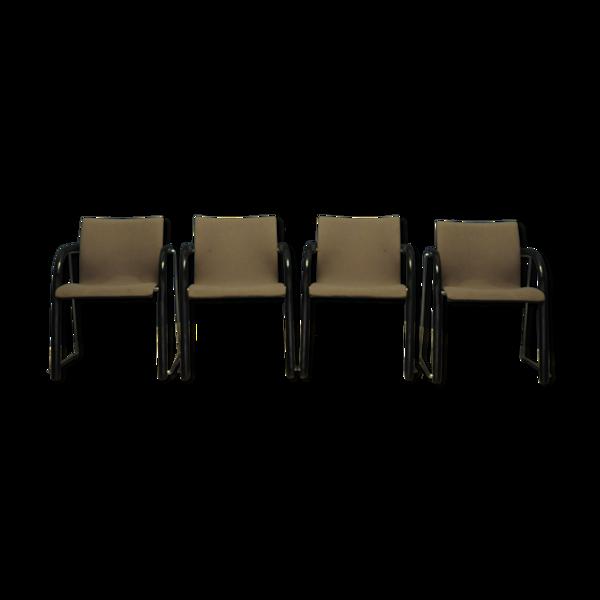 Ensemble de 4 fauteuils Thonet