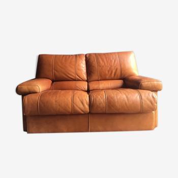 Canapé cuir 2 places Cierre Imbottiti