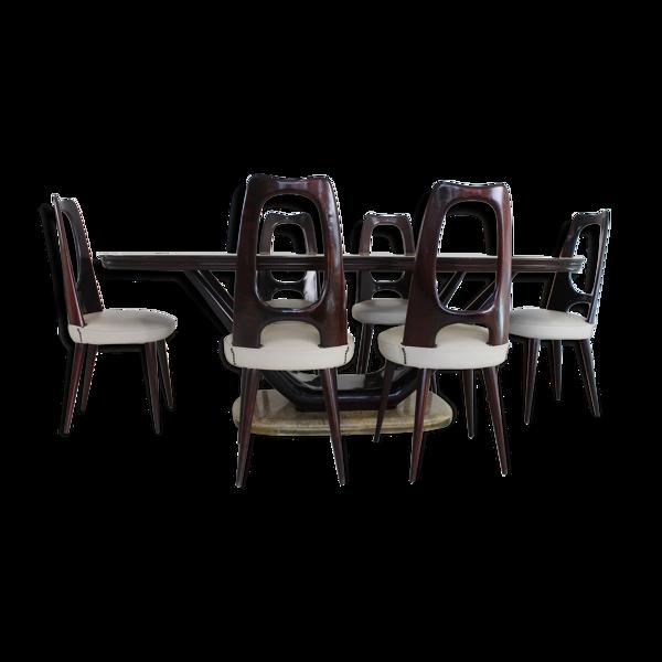 Selency Salle à manger italienne par Vittorio Dassi