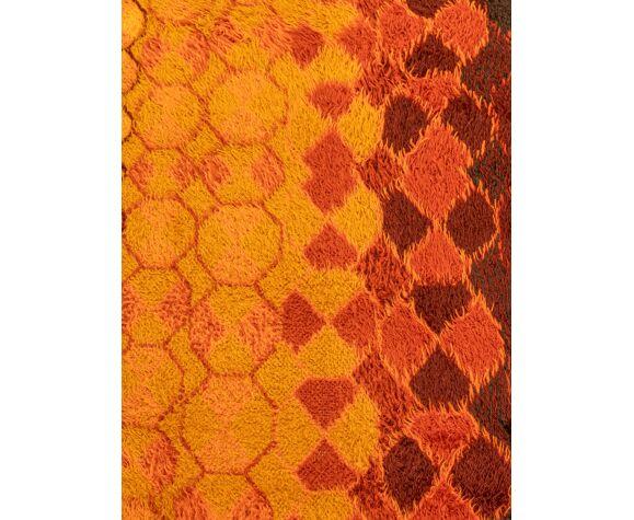 Tapis menuette des années 1970, 250 x 354