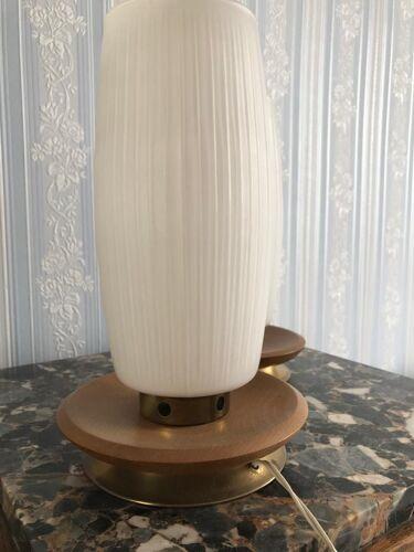 Lot de 2 lampes de chevet vintage