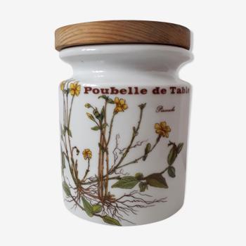 Pot porcelaine