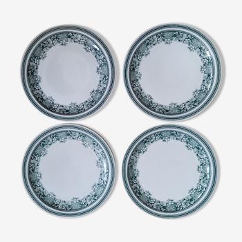 Set 4 Maastricht Mosa flat plates