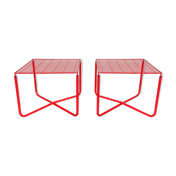 Selency Paire Table basse de Niels Gammelgaard, modèle JARPEN