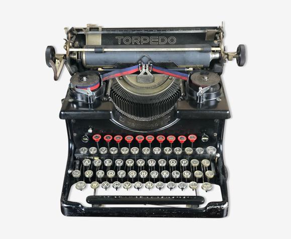 Machine à écrire torpedo 1920