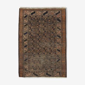 Tapis afghan balouch fait main - 79x118cm