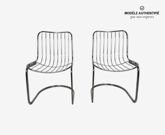 Paire de chaises Gastone Rinaldi