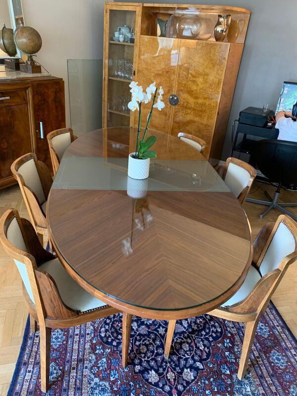 Table de salle à manger art déco