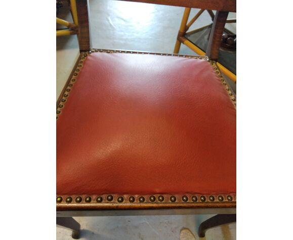 Paire de fauteuils bridge