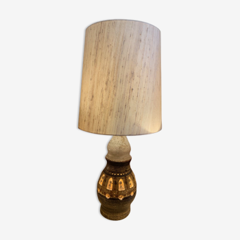 Lampe en céramique de l'artiste Georges Pelletier