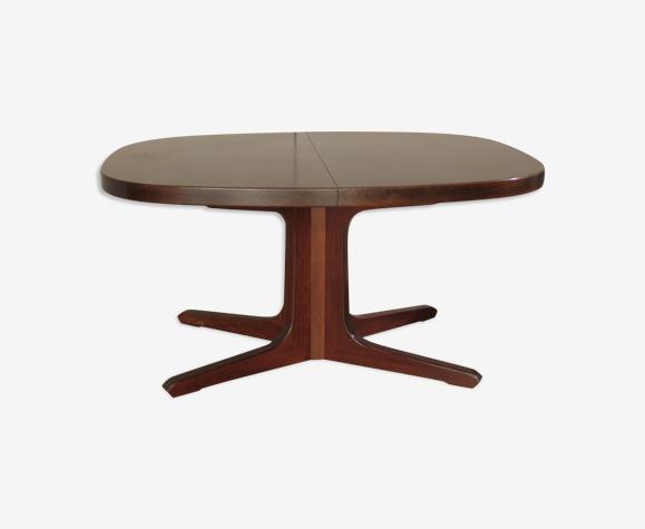 Table ovale en orme avec rallonges