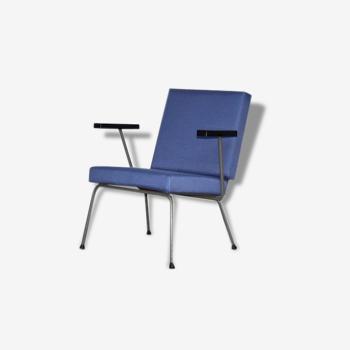 Fauteuil 1401 de Wim Rietveld pour Gispen, Dutch Design 1959