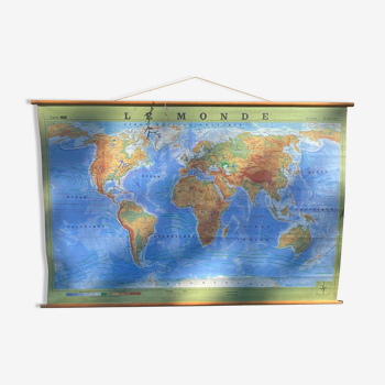 Carte géographique 220x140