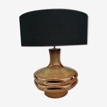 Lampe céramique w. germany vintage 50