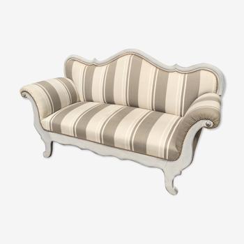 Old franc comtois sofa