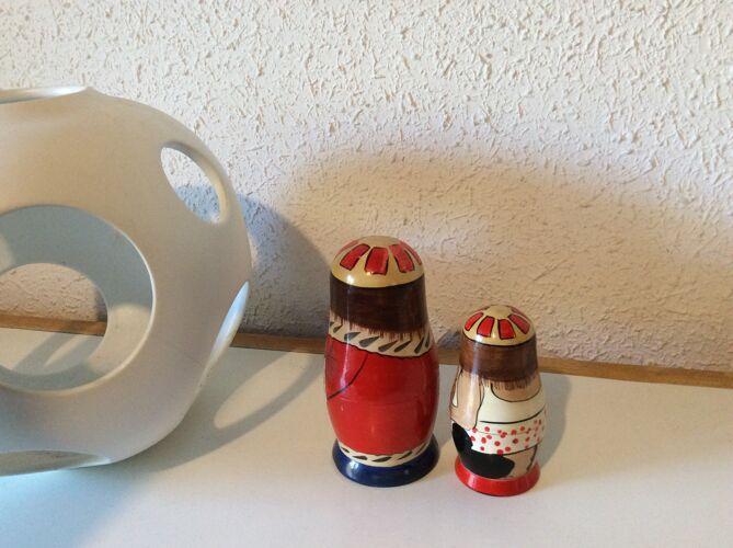 Poupées russes Rois mages anciennes