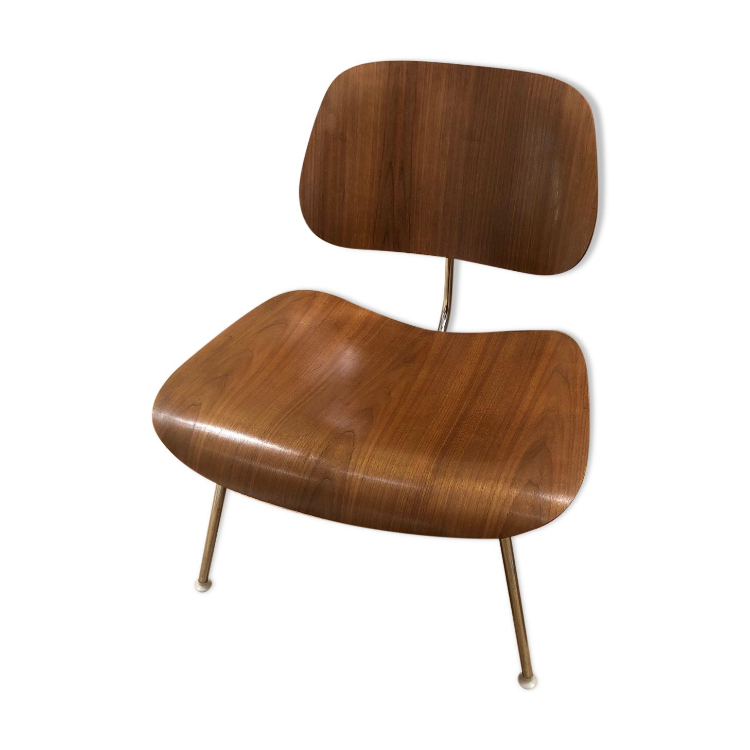Chaise LCM en palissandre de Charles & Ray Eames édition Herman Miller